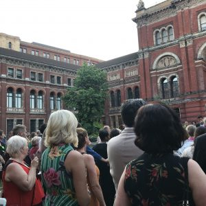 At HArperCollins Summer Party at the V&A